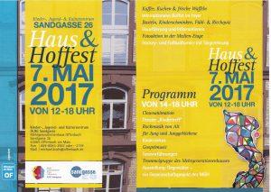 Programm Haus- und Hoffest - Foto