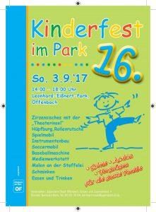 16. Kinderfest im Park