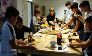 Multi-Media-Werkstatt Mittagessen