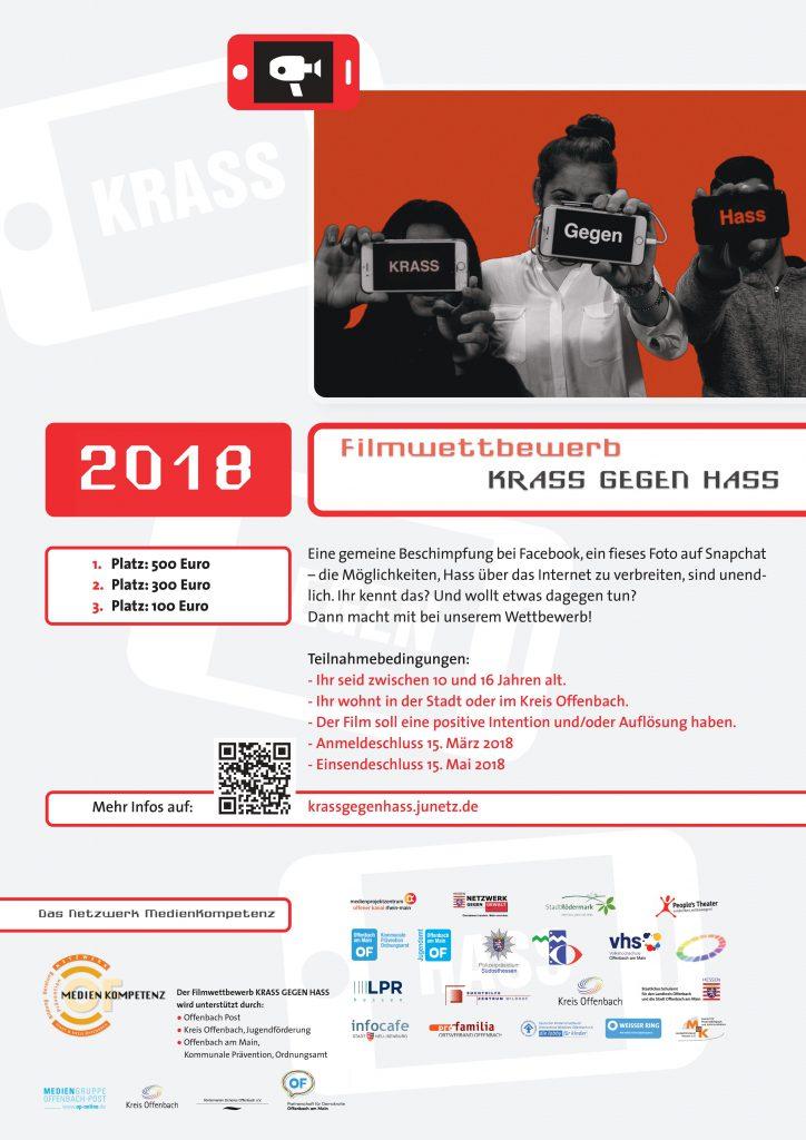Filmwettbewerb Krass gegen Hass