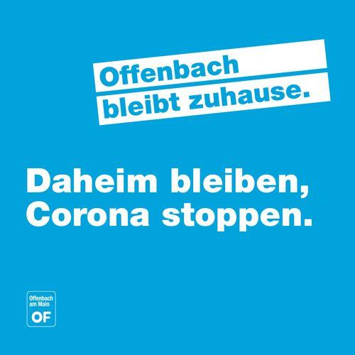 Offenbach bleibt zu Hause. Medien-Etage digital.