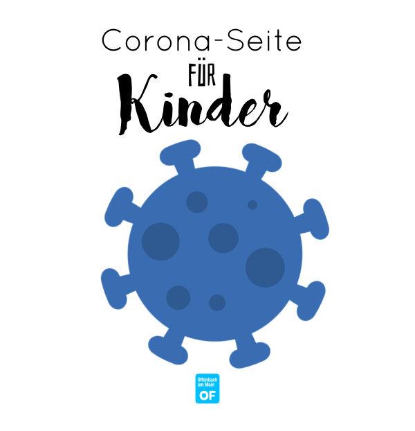 Corona-Seite für Kinder