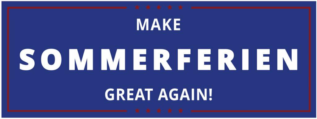 Make Sommerfieren great again!